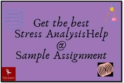 stress analysis academic assistance through online tutoring