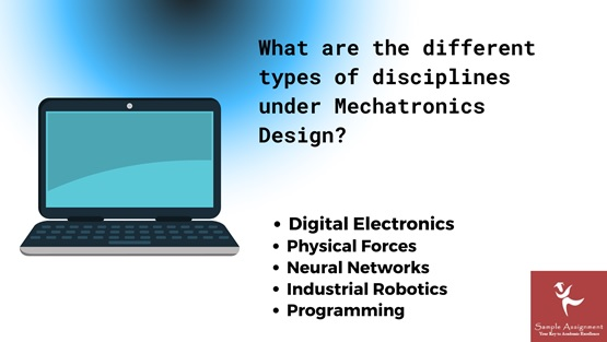 what are the different types of disciplines under mechatronics design