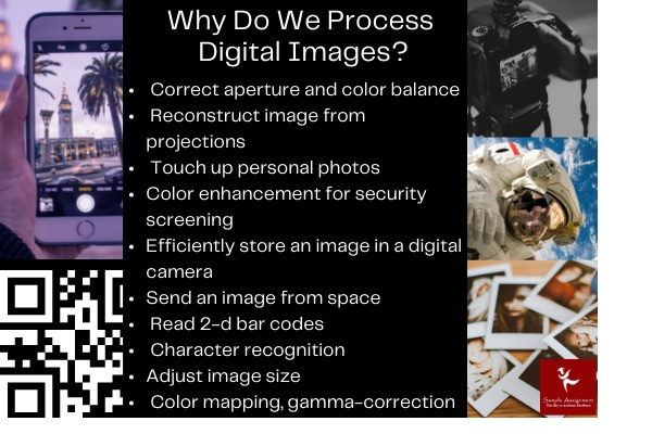 why do we process digital images