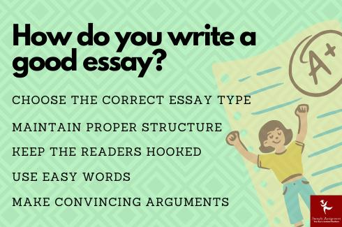 write a good eassy