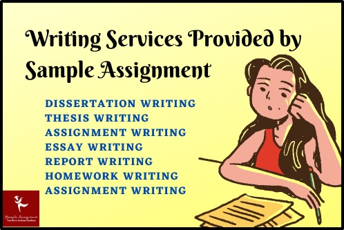 writing services provided by sample assignment