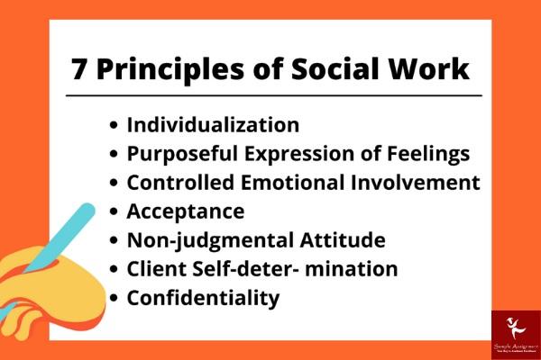 7 priniciples of social work