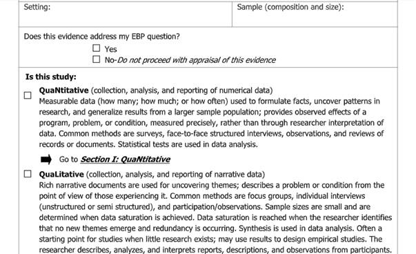 Johns Hopkins Nursing report type