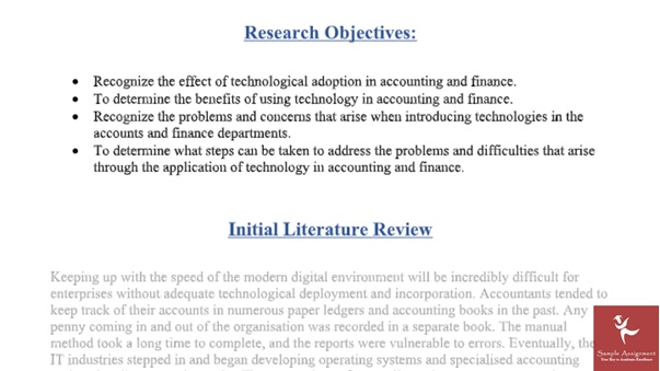 applied business research assignment solutions