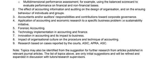 applied business research assignment samples