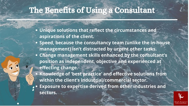 benefits of using consultants