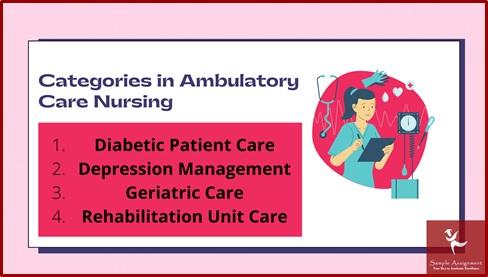 categories in ambulatory care nursing