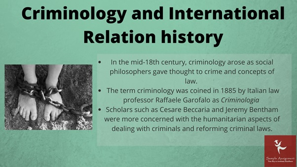criminology and international relations academic assistance through online tutoring