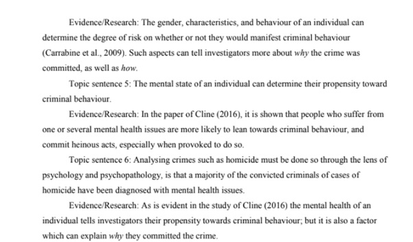 criminology and international relations assignment samples