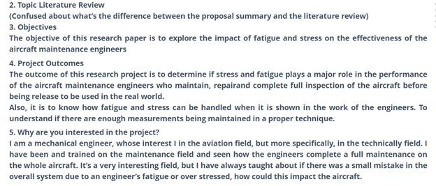 diploma of aviation maintenance management mechanical sample