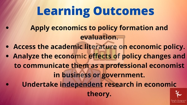 economic policy academic assistance through online tutoring learning outcome