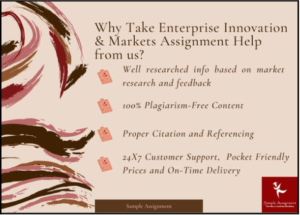 enterprise innovation and markets assignment