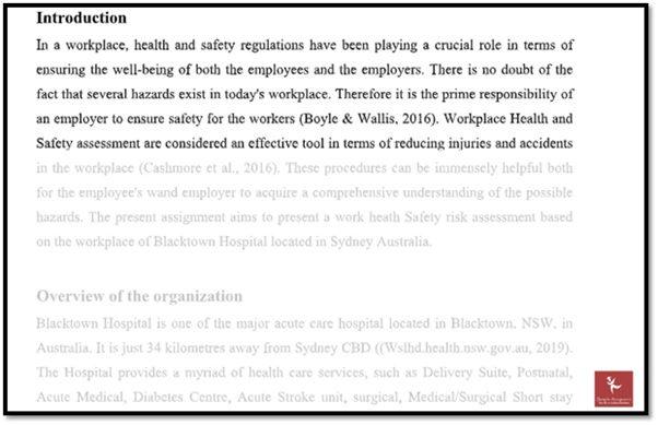 environmental health and safety law academic assistance through online tutoring samples