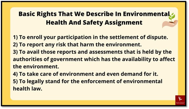 environmental health and safety law academic assistance through online tutoring