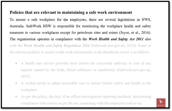 environmental health and safety law assignments help