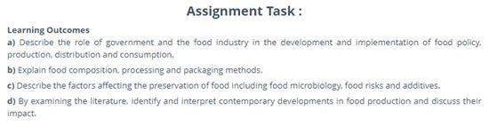 food microbiology academic assistance through online tutoring task