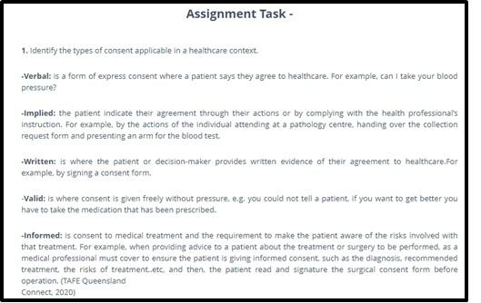 healthcare homework help