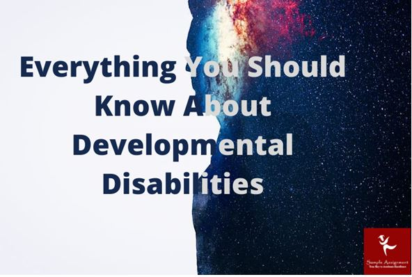 know about developmental disabilities