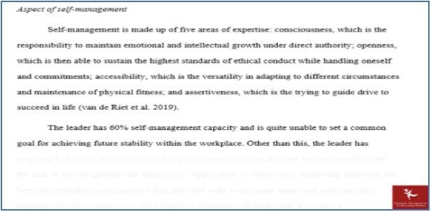 leadership in healthcare assessment answer sample