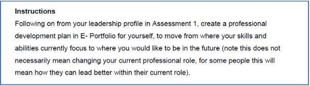 leadership in healthcare assessment sample online