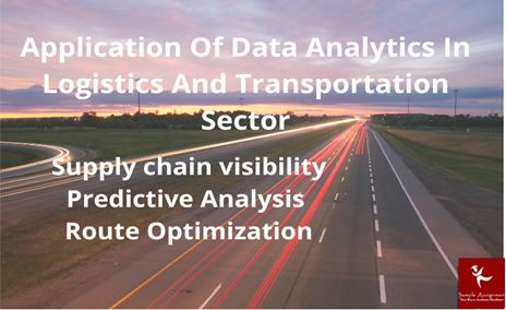logistics and transportation analytics coursework help