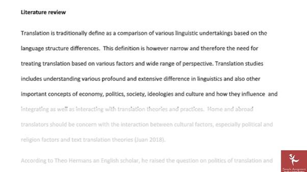 translation and interpreting study sample