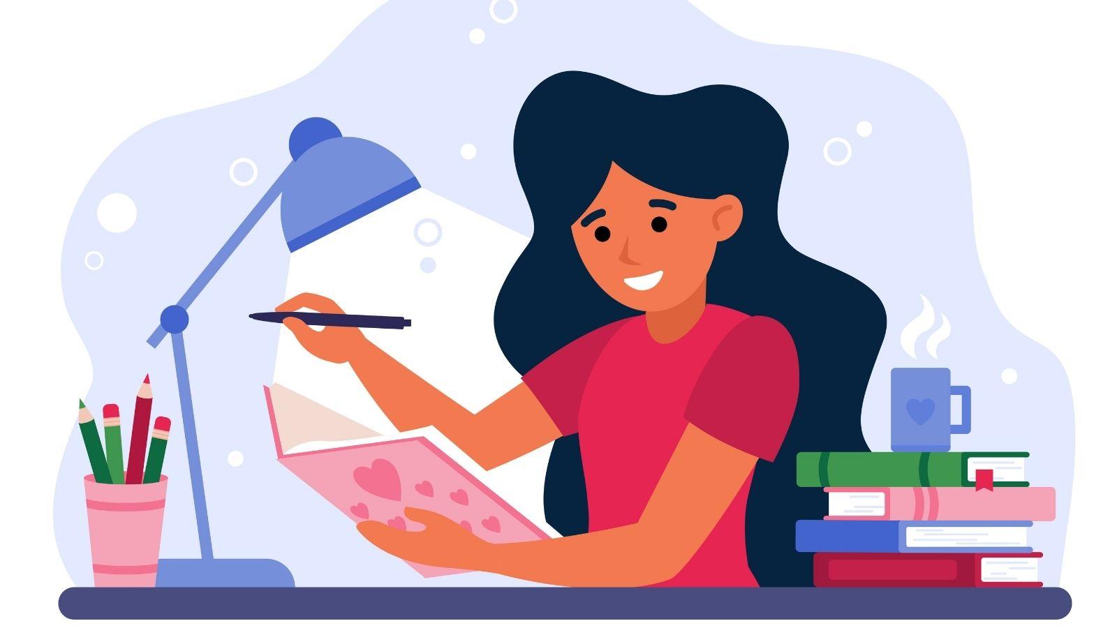 illustration essay writing
