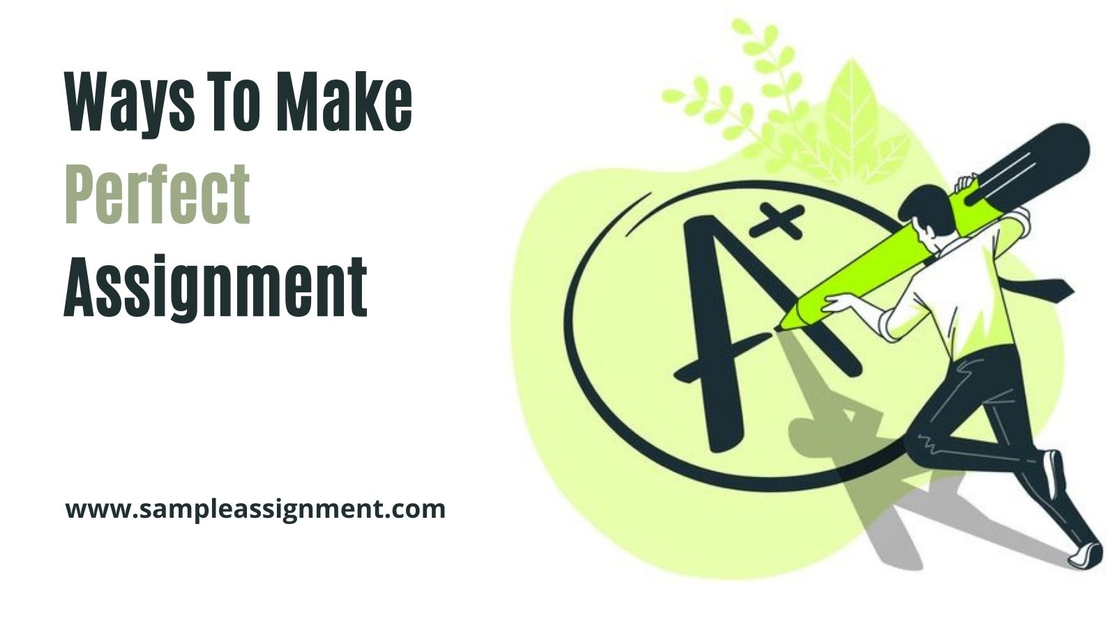 make perfect assignment