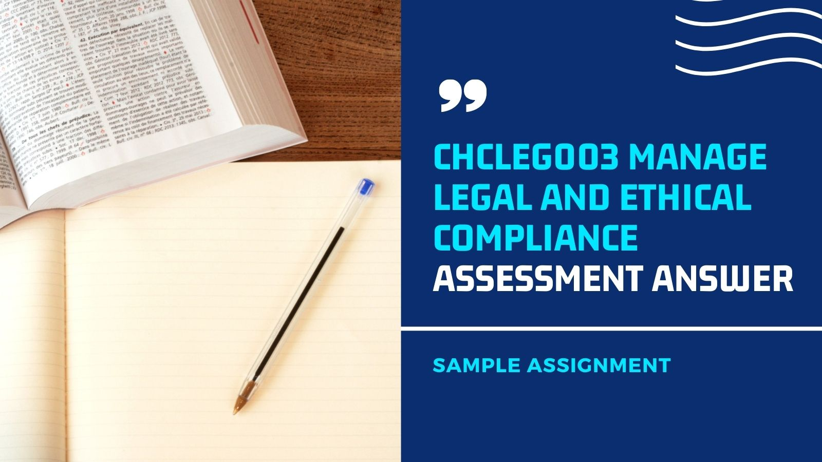 chcleg003 assessment answer